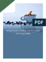 Netbeans Tutorial For Beginners Pdf