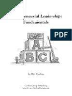 Bill Corbin - Entrepreneurial Leadership - Fundamentals