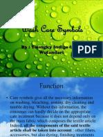 Wash Care Symbols