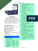GE-131  Multi-Parameter Meter PH ORP Conductive Temperature meter