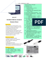 GE-137 Residual Chlorine Analyzer Monitor