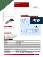 GE-201 Industrial Pressure Transmitter