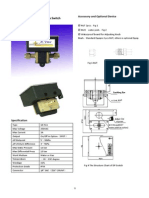 User Manual for GE-511 Adjustable Differential Pressure Switches