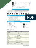 MF-57 smart Thermal Gas Flow Sensor Meter