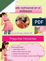 Consejos de Nutrición y Embarazo