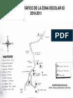 Plano Geografico de La Zona 63