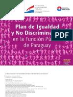 Plan de Igualdad y No Discriminación en la Función Pública del Paraguay