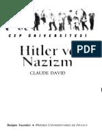 Claude David - Hitler Ve Nazizm