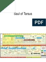 Saul of Tarsus Time-line