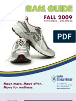 TLC Fall 2009 Program brochure