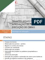 Tramites Legais de Projetos e Obras