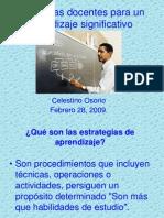 Estrategiasdocentesparaunaprendizajesignificativoing Celestino 090314172753 Phpapp02