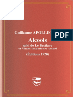 2775676 Alcools Guillaume Apollinaire