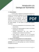 Introducci+¦n a la Geolog+¡a de Yacimientos