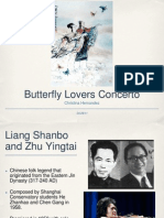 The Butterfly Lovers Concerto Presentation