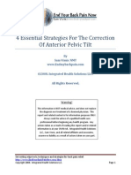 4 Essential Strategies for the Correction of Anterior Pelvic Tilt