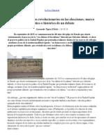 La Rosa Blindada » Participación de los revolucionarios en las elecciones; marco político e histórico de un debate