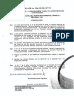 Estudios Impacto Circulacion ResolucionNo 20114 CNTTTSV