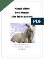 Manual Bíblico para detectar falsos maestros (1)