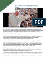 El Papa sobre la Comunión de los Santos