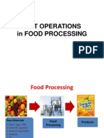 Unit Operations in Food Processing - PTP