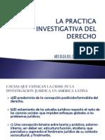 Practica Investigativa Del Derecho