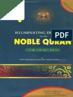 IlluminatingDiscoursesOnTheNobleQurantafseerAnwarulBayan Volume1 ByShaykhAshiqIlahiMadnir.a Islamicbookslibrary.wordpress.com