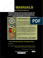 SF Manuals NAVSPECWAR Training Library