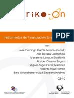 Instrumentos de Financiación Empresarial (Sarriko)