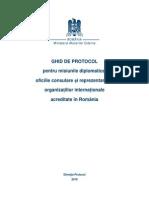 Indrumar Protocol MAE 2010