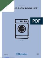 Electrolux EWD 1409I User Manual