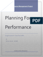Performance Planning PM Project