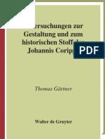 Homas Untersuchungen Zur Gestaltung Und Zum Historischen Stoff Der Johannis Coripps Untersuchungen Zur Antiken Literatur Und Geschichte 2008