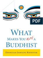 Dzongsar Khyentse - What Makes You Not a Buddhist
