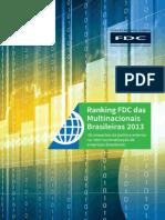 Ranking Das Multinacionais Brasileiras 2013
