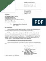 Dipascali, Madoff CFO, Bail Letter