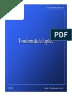 Transformada de Laplace - Capitulo 4
