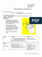 Rehab Practice Guidelines for ACL Reconstruction