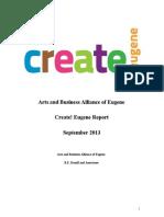 Create! Eugene Event Report