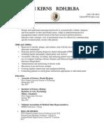 dental hygiene resume 2013 no cover letter
