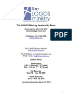 Trinity Logos Handbook 2009-2010
