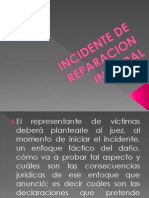 INCIDENTE DE REPARACION INTEGRAL.ppt