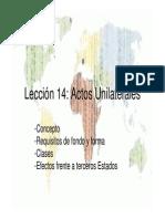 LECCIÓN+14+ACTOS+UNILATERALES