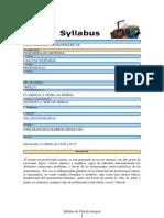 Syllabus Calculo Integral Ii2009 Publicar