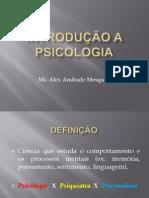 aula 01 - INTRODUÇÃO À PSICOLOGIA