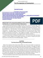 Ambedkar - India and the Prerequisite Pre-requisites of Communism, Marx, Buddha