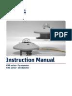 KippZonen Manual CMP Pyranometers CMA Albedometers