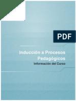 inducción a procesos pedagogicos