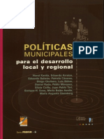 Politicas Desarrollo Local Regional