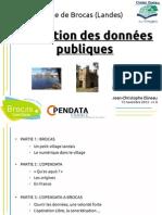 Présentation Opendata Brocas